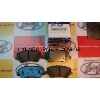 Колодки тормозные передние, HYUNDAI ELANTRA 11-, 581013XA20
