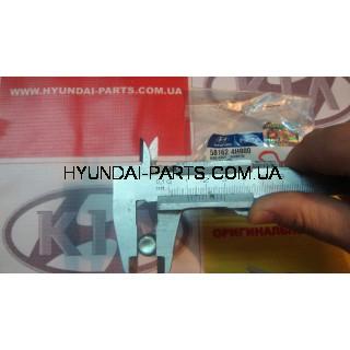 Направляющая переднего суппорта нижняя, HYUNDAI H-1, 581624H000