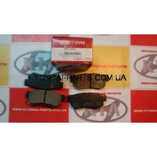 Колодки тормозные задние, HYUNDAI SONATA EF, 583023KA51